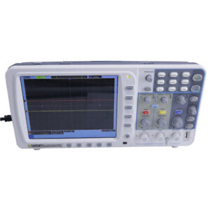 Owon 100mhz Digital Oscilloscope Sds7102v 1g s Large 8 Lcd With Lan And Vga