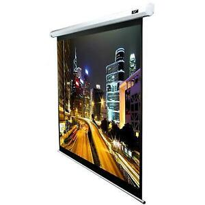 84 Electric Screen White Top