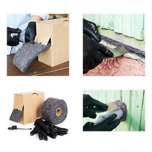 Nordstr Steel Wool Mice Control Pest Rodent Proof Metal Wire Mesh Roll 5ft 4in