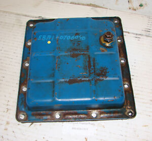 Sba110706040 83920101 Ford 1700 Compact Tractor Oil Pan