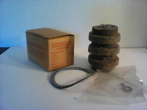 Vintage Crown Oil Filter Cartridge Refill 4140 C25 In Box With Seals