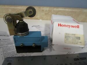 Honeywell Dte6 2rn2 Limit Switch Top Roller Arm Actuator 2nc 2no Dpdt Snap Act