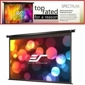 150 16 9 Electric Motorized Drop Down Projector Projection Screen W Ir Remote