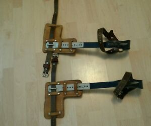 Klein Adjustable Climbers Removable Spikes Gaffs Linesman Pole Tree Climbing