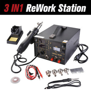 3 In 1 853d Soldering Station Hot Air Iron Gun Rework Welder Repair Tool He001