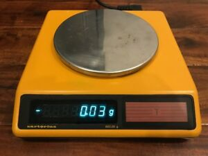 Sartorius 1409 Mp7 2 Balance Scale 600 00 G Exc Condition Working