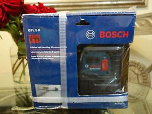 Bosch 5 point Self leveling Alignment 100ft Laser Level Gpl 5 R plumb