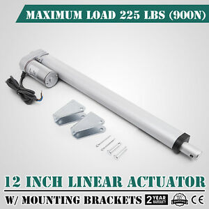 12 Stroke Linear Actuator Dc12v Electric Motor 900n Durable Sturdy Water proof