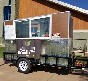 2018 Concession Trailer 5ft X 10ft Includes All New Commercial Equipment