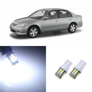 8 X Super Bright Led Lights Interior Package For Honda Civic 2001 2005 Tool
