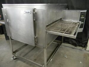 Lincoln Impinger Conveyor Single Stack Pizza Gas Oven 1450 we Offer Financing