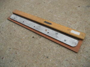 Paper Cutting Knife Blade For 30 Paper Cutter Sharpened Tryleo