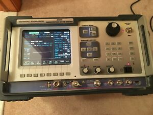 General Dynamics Motorola R2600d Service Monitor Communications Analyzer R2600