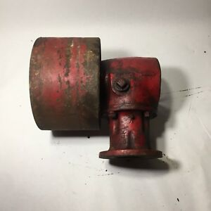 International Farmall Cub Tractor 90 Degree Pto Gearbox Belt Rear Pulley Drive