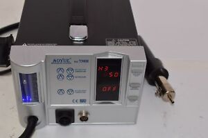 Aoyue 738h Smd Digital Hot Air Rework Station Solder Smoke Absorber