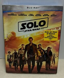 SOLO-STAR WARS STORY BLU-RAY WITH SLIP COVER AND CASE. PRE ORDER SHIPS 92518