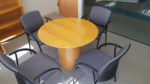 Cherry Veneer Kimball Office Custom Built Conference Table