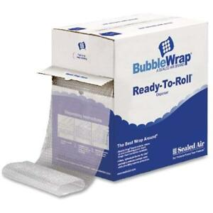 Plastic Air Bubble Wrap Roll Post Packaging Parcel Protect 5 16 x 12 100 Feet