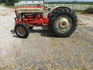 Ford 801 Powermaster Tractor Restored