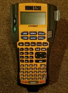 Dymo Rhino 5200 Industrial Label Maker Industrial Label Maker