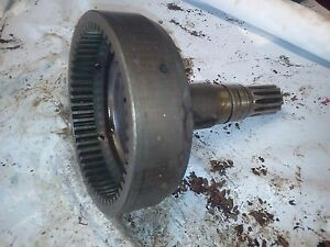 Farmall Ihc Tractor Smta 300 350 400 450 Live Pto Shaft With Ring Gear