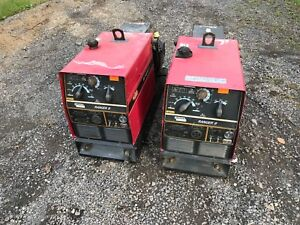 Two Lincoln Electric Ranger 8 Portable Gas Welder Generator 8 000w Untested