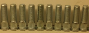 Lot Of 10 Carry On Corp Brand Wheel Studs 1 2 20 Diameter 2 Long Part 522