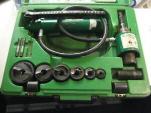 Greenlee 7306sb 1 2 2 Slugbuster Hydraulic Knockout 767