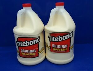 Lot Of 2 Gallons Titebond Original Interior Wood Glue Excellent Strength