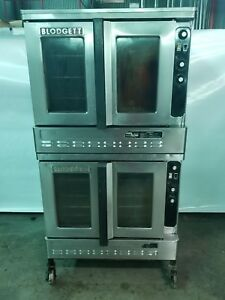 Blodgett Gas Double Stack Convection Oven Free Shipping In The Lower 48