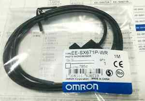 New Omron Photo Microsensor Ee sx671p wr 12 24vdc 1m