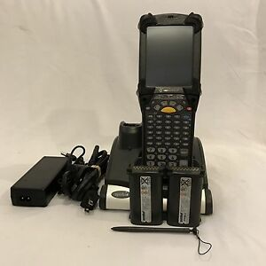 Symbol Motorola Mc9190 ga0sweqa6wr Wireless Barcode Scanner W Cradle