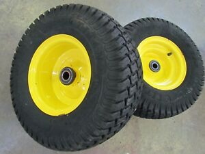 John Deere 420 430 425 445 455 Front Wheels Tires Rims 18 X 8 50 8