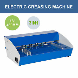 460mm Electrical Creasing Machine Electric Paper Creaser Heavy Duty