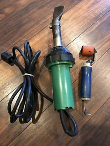 Leister Triac With Seam Roller probe Combo Tool