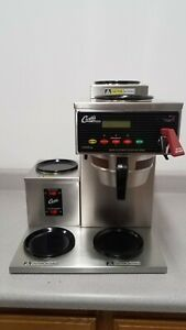 Curtis Alpha 5 Dsr 2u 3l Automatic 5 Burner Coffee Brewer W Faucet 120v Ss