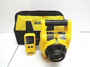 Dewalt Self Leveling Interior And Exterior Rotary Laser Level Kit Dw074