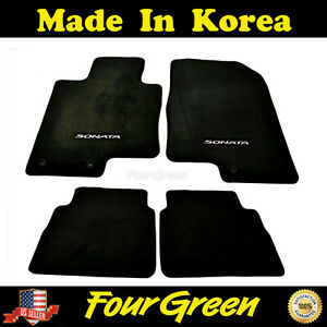 Genuine Hyundai 3qf13 ac000 Floor Mat 4 Piece Set Sonata 2011 2012 2013 2014