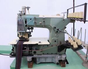 Kansai Special Dfb 1406p 6 needle Chainstitch Puller Industrial Sewing Machine