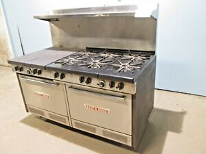 southbend Hd Commercial nsf Nat Gas 6 Burners Stove W french Top