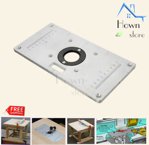 Precision Router Routing Table Top Mounting Insert Ring Woodworking Diy