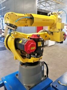 Fanuc M 20ia Robotic System Complete W R30ib Mate Controller 2015 low Hours