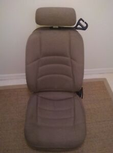98 Ford Mustang Front Seats Cloth Tan