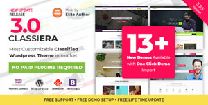 Classiera Classified Ads Wordpress Theme Anuncios Clasificados