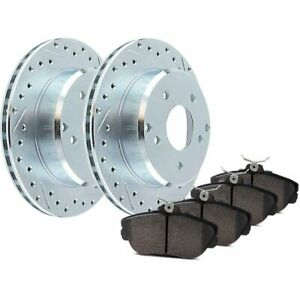 Stoptech 2 Wheel Set Brake Disc And Pad Kits Front New For F150 Truck 928 65002