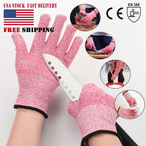 Cut Resistant Glove Safety Waterproof Kitchen Cutting Butcher Level 5 Protective
