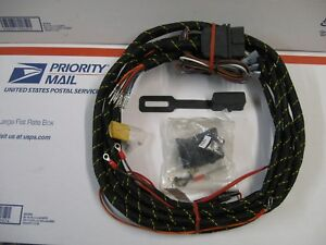 Western Mvp Fisher Ez V Plow Nos Round Plug Control Harness 66610 Relay Type