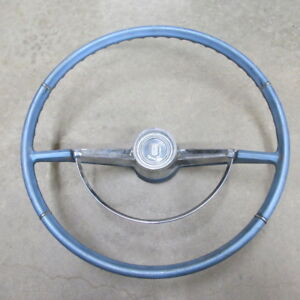 1966 Chevrolet Chevy Ii Nova Original Gm Factory Steering Wheel And Horn Ring