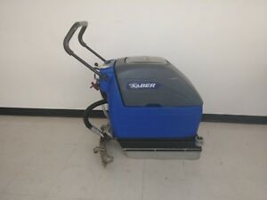 Windsor Saber 17in Floor Scrubber New Batteries Charger Included
