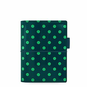 Filofax Domino Patent Pine With Spots